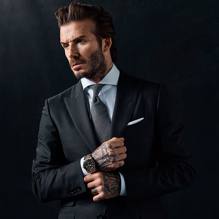 David Beckham & Black Bay S&G