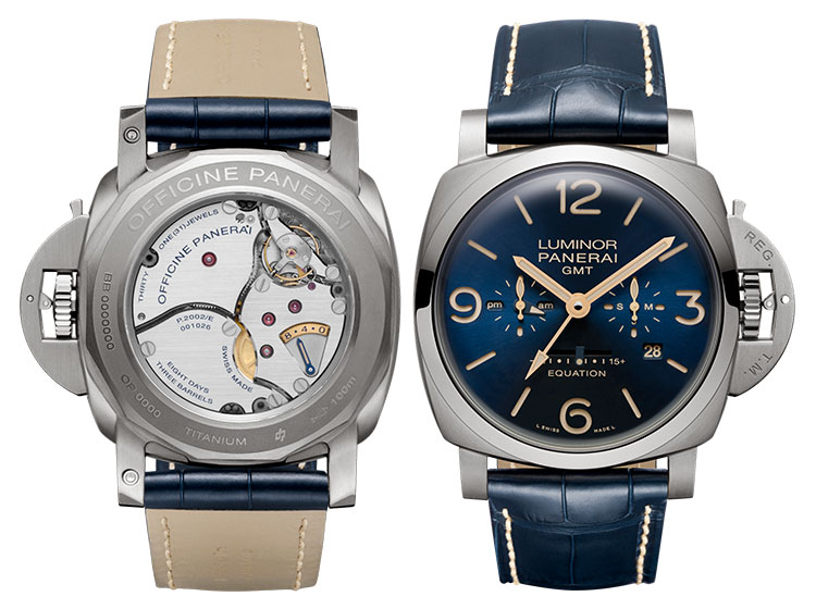 Officine Panerai Luminor 1950 Equation of Time 8 Days GMT<