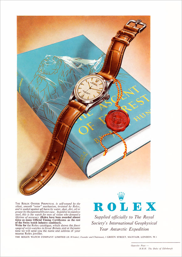 Rolex: On top of the World